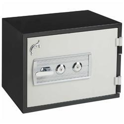 Black And White Single Door Fire Resistant Safe Safire 40 Machanical
