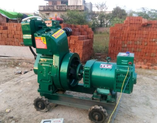 Bharat 5 Kva Air Cooled Diesel Generator For House Construction