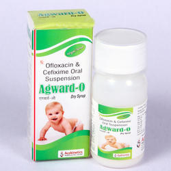 Cefixime 50 mg   Ofloxacin 50 mg Dry Syrup