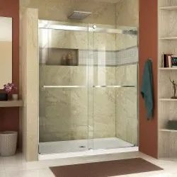 Hinged Shower Glass Door, for Home,Hotel