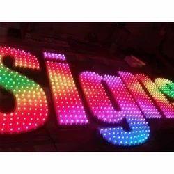 Pixel LED Sign Letters