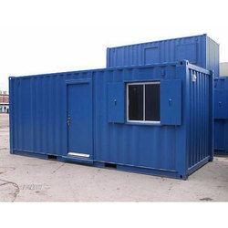 Blue Container House
