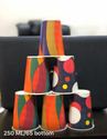 Multicolor 250 Ml Paper Cup Spectra, Packet Size: 50 Cups Per Sleeve