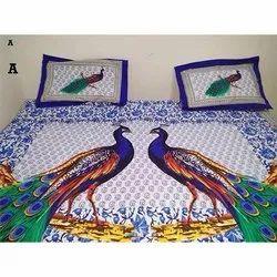 Peacock Design Bedsheets