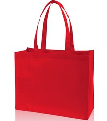 Handled Multicolor Loop Handle Non Woven Tote Bag