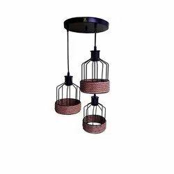 PMH Electric Bird Cage Pendant Light Chandelier