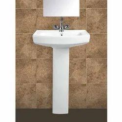 Polo Pedestal Wash Basin
