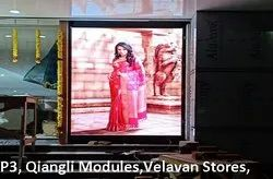 P3 High Resolution Indoor LED Video Wall