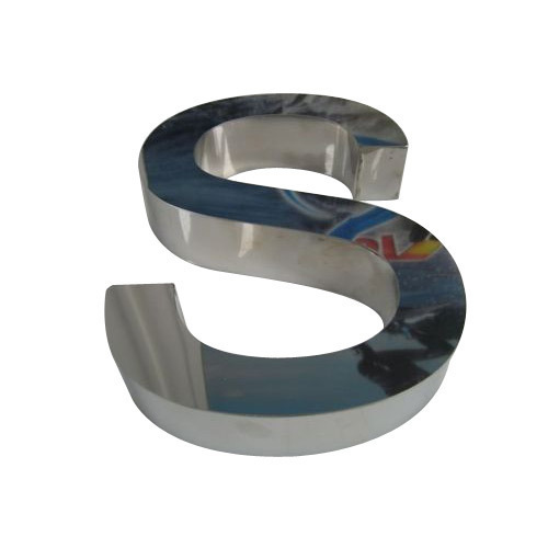 Stainless Steel Letter