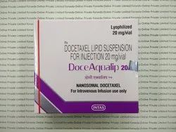Docetaxel Lipid Suspension