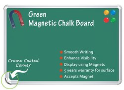 Magnetic Green Chalkboard