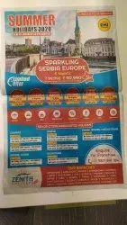 Newspaper Advertisement