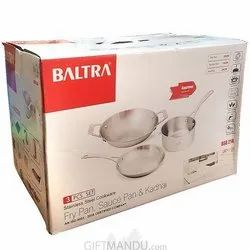 Baltra 3 Pcs Cookware Set
