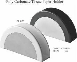 Polycarbonate Tissue Paper Holder