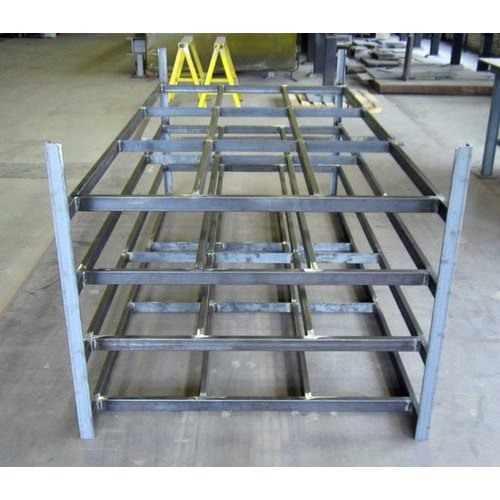 Steel Fabrication Services: Industrial Metal Fabrication Service At Rs 250/square Feet