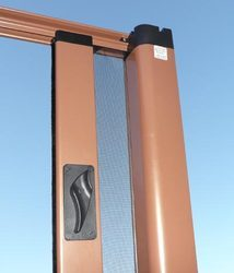 Foldable, Hanging Zip Line Mosquito Screen, Packaging Type: Roll