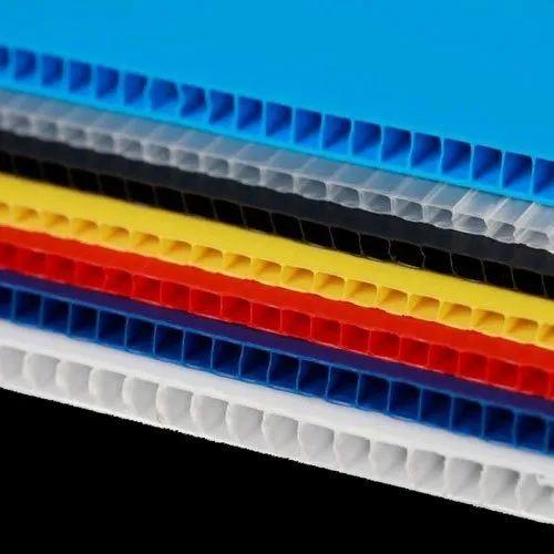 Polypropylene Plastic Corrugated Sheet, Packaging Type: Bundle