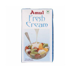 Amul Fresh Cream, Packaging: Packet