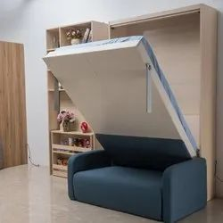 Vertical Wall Mounted Bed Cum Sofa
