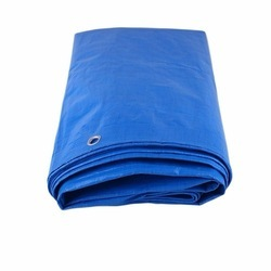 Blue HDPE Tarpaulin Cover