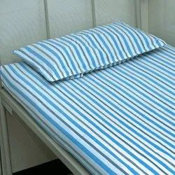Single Hospital Bed Sheet, Size: 5x7 Ft