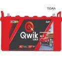 Qwik 110 Ah E Rickshaw Battery Qer-1300, Voltage: 12 V