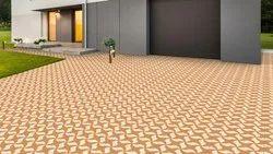 Matt Ordinary Vitrified Parking Tiles 285x285 & 300x300 mm