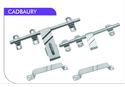 Cadbaury Stainless Steel Door Kit