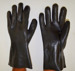 PVC Supported Hand Glove 14 Inch Midas Make