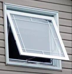 Glass Upvc Awning Casement Window