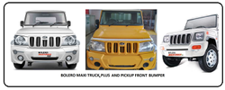 Mahindra Bolero Maxi Truck Front Bumper
