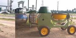 Heavy Duty Concrete Mixer Machine 3/4 Bag