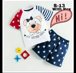 Kids Cotton T Shirt and Pant Set
