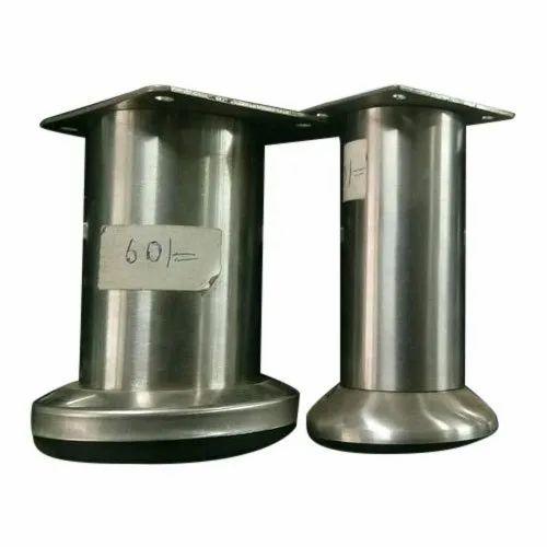 6 Inch Stainless Steel Sofa Leg