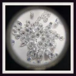 1.6mm 1ct DEF CVD Polished LAB Grown Diamonds