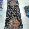 Printed Wool Embroidered Stole