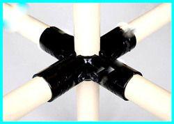 FIFO 5-Way T Metal Joints Flexible Tubing fitting
