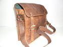 Retro Look Vintage Leather Laptop Bag