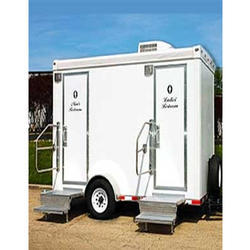 Movable Wheel Toilet
