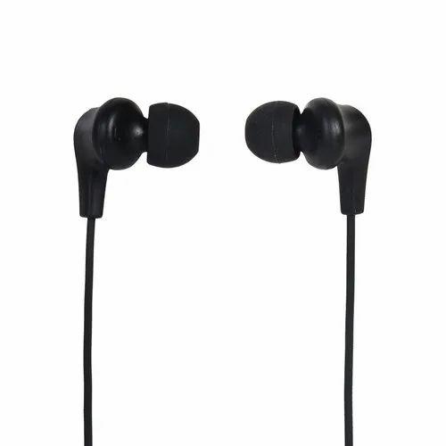 Treams Black TR-40 Universal Stereo Earphone, Headphone Jack: 3.5 Mm
