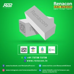 Renacon Rectangle CLC Blocks, For Partition Walls