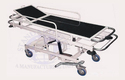 Standard Steel White Emergency Stretcher Trolley, For Hospital Use, Model Name/number: Ss168