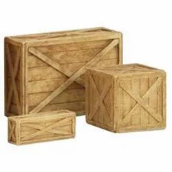 Light Weight Rectangle Industrial Wooden Box, 5-20 mm, Box Capacity: 1-200 Kg