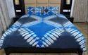 Tie Dye And Shibori Printed Cotton Bed Sheet