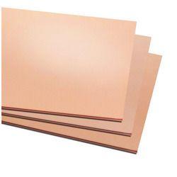 Beryllium copper C17500 sheet