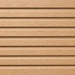 Solid WPC Wood Deck