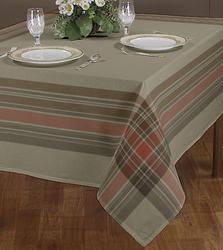 Border Woven Table Cloth