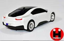 Henicx - 1:18 BMW i8 Racing Car 40MHz Radio Remote Control Car with LED Headlights