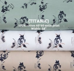 Titanic (Cotton Satin Print)