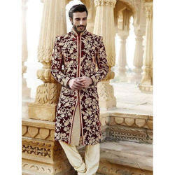 Embroidered Traditional Sherwani